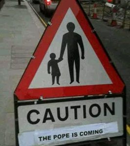 Caution Pope