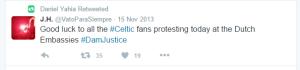 daniel yahia celtic hooligans