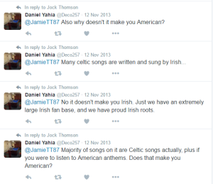 daniel yahia celtic ira fan