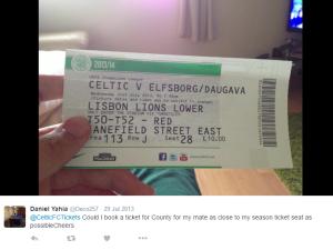daniel yahia season ticket